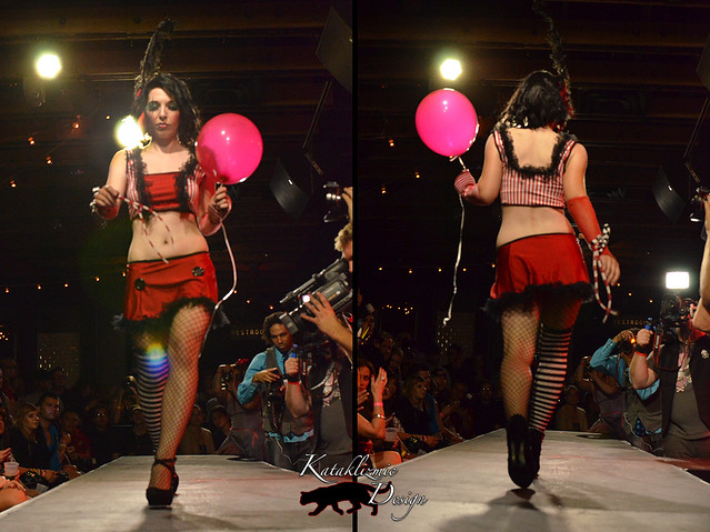 Hell on Heels Couture - Madame Trapeze Fashion Show 05-12-12