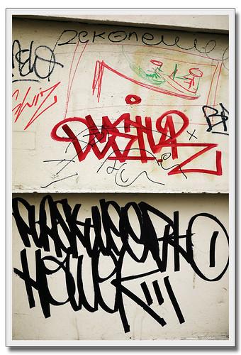 DYSTUR - FLASK - WEERKO - HOWEK by Olivier B. (o.b@T)