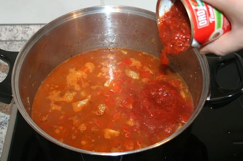 26 - Tomaten hinzufügen / Add tomatoes