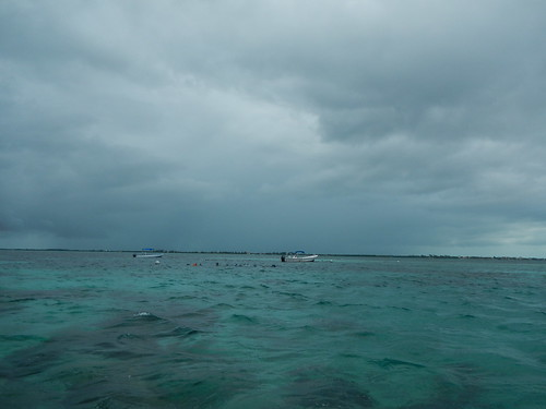 Snorkelers at Hol Chan