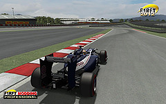 [rFactor] F1RFT 2012 Williams InGame Rear