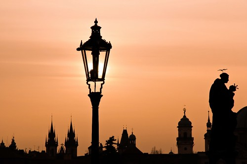 Prague Czech Republic Early Morning - A Magic Lamp [Reupload]