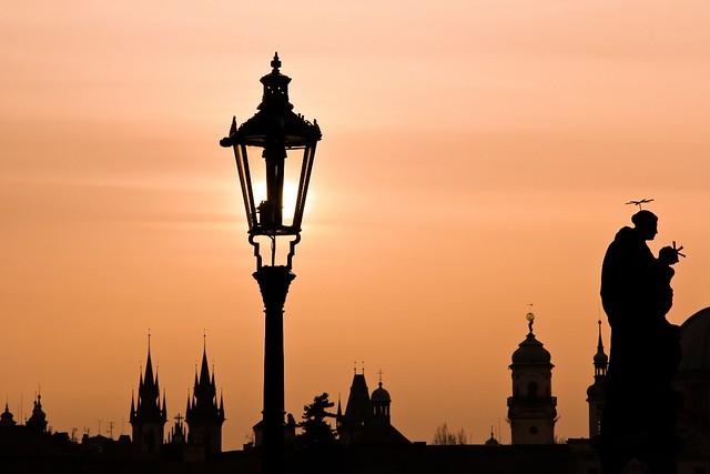 Prague Czech Republic Early Morning - A Magic Lamp [Reupload]