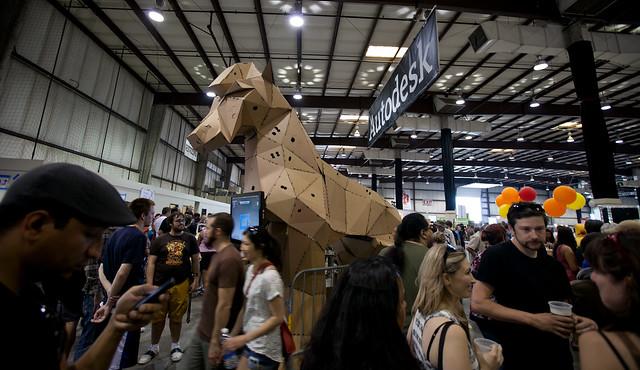 Horse Craft Cardboard Tube Stuffed Paper Bag