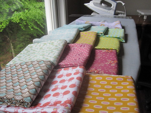 all this for $33=7 yards designer fabrics!!  by thethreaded~chickadee