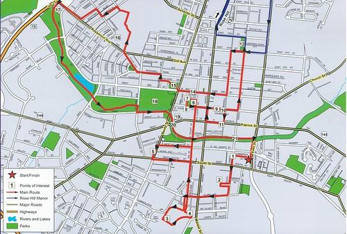 Frederick History Bicycle Loop