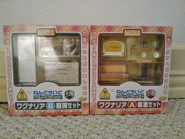 Nendoroid Playset #5 Wagnaria A & B