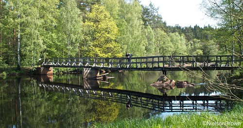 Bridge over Krokån Knäred