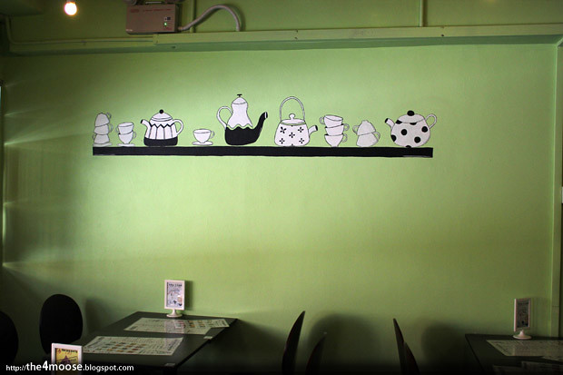 Tea Party Cafe - Interior