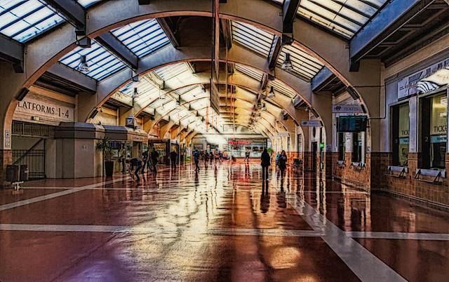 Wellington Train Station