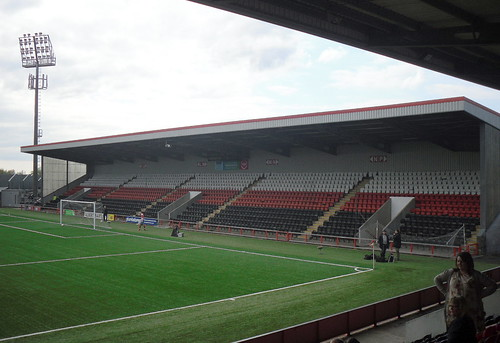 North Stand from east, New Broomfield.