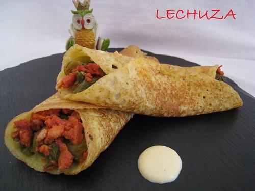 Filloas de maiz con chori y grelos (8)