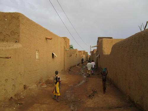 Calle de Djenné.