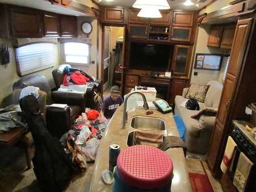 trailer house mess