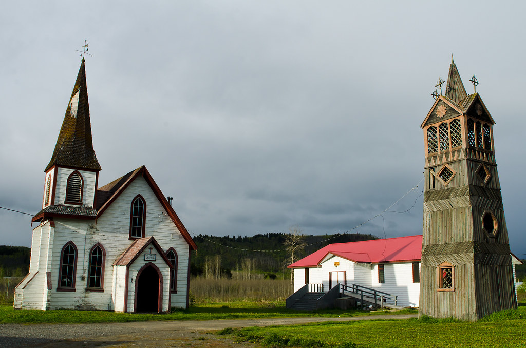 Church and bell tower