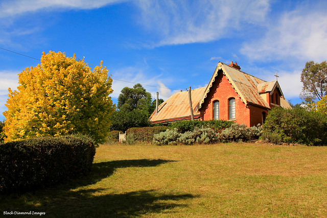 St Josephs Convent and Catholic School, Built 1868, Sofala, NSW Central West