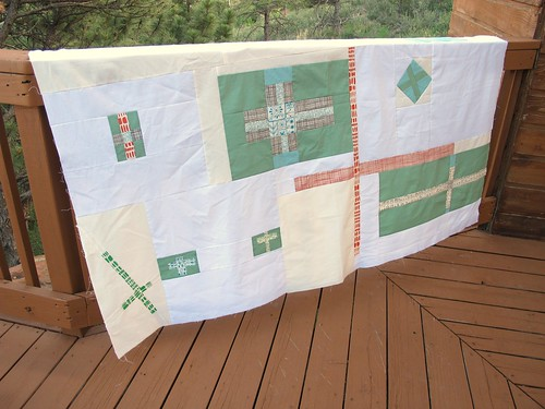 "My version of the ""add it up"" quilt"