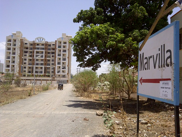 Shree Venkatesh Group - Marvilla - Ready Possession - 2 BHK 2.5 BHK & 3 BHK Flats - Baburao Shankarrao Tupe Road (D P Road) Hadapsar  - Visit Livogue - 1 BHK, 1.5 BHK & 2 BHK Flats at Malwadi Hadapsar, Pune 411028