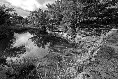 Waterfall Canyon (B&W)
