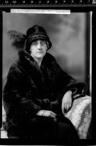 Portrait of unidentified lady