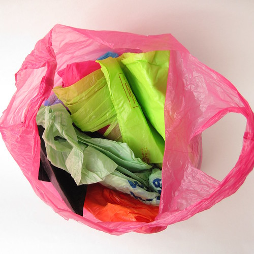 Carrier bags - before