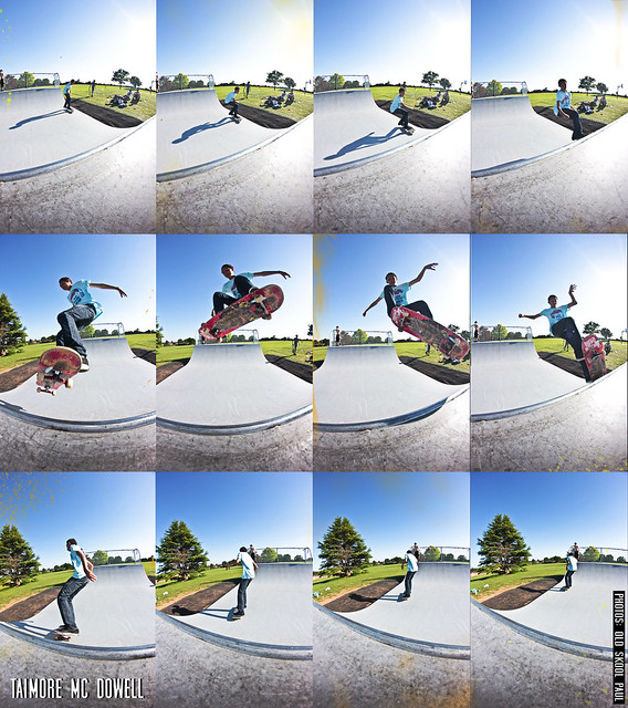 Taimore Mc Dowell - Ollie Sequence @ Cookham