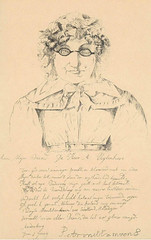 <p>Anonieme prent (litho) naar een anoniem portret van Petronella Moens uit ca. 1825, met daaronder een gedicht van de blinde dichteres voor de heer A. Uytenhove, getekend 1 juni 1791. Coll. Het Utrechts Archief.</p>