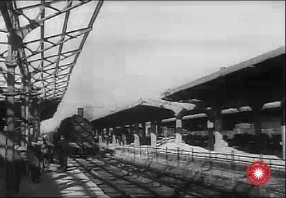 Peronul 1 al Garii de Sud Ploiesti 1944