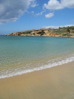 Image de Eastern Gulf. sea beach bay coast greece crete holyapostles
