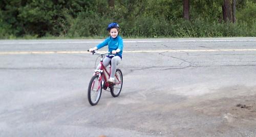 De biking
