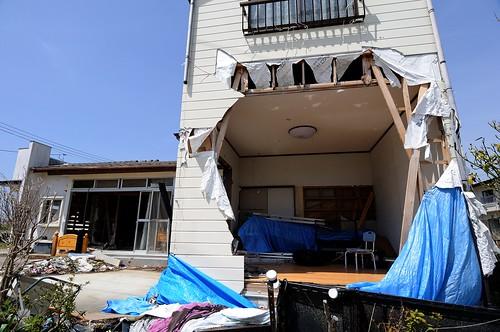 津波の爪痕 / After the tsunami