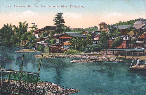 Coconuts Rafts on the Pagsanjan Riber, Philippines, early 20th century
