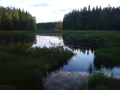 cameraphone lake reflection phonecam sonyericsson isaberg xperia xperia2day