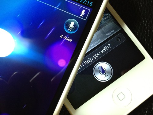 Siri and S-Voice