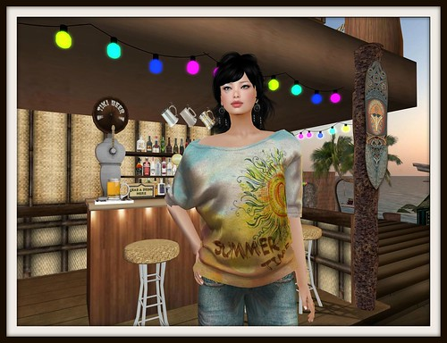 Top estampado [NV] VENICE CROPPED (Mesh) by Cherokeeh Asteria