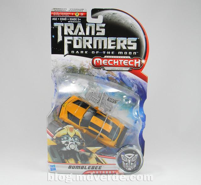 Transformers Bumblebee Deluxe - DotM - caja