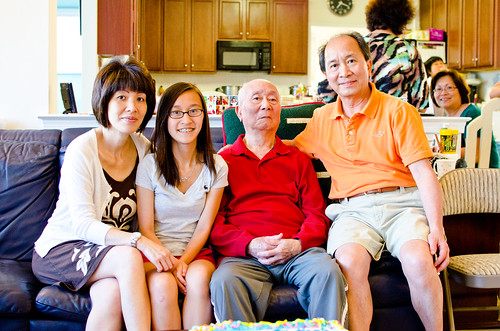 Father's Day + Ong's 90th Birthday
