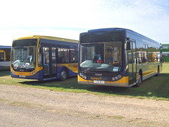 Buses from across the UK