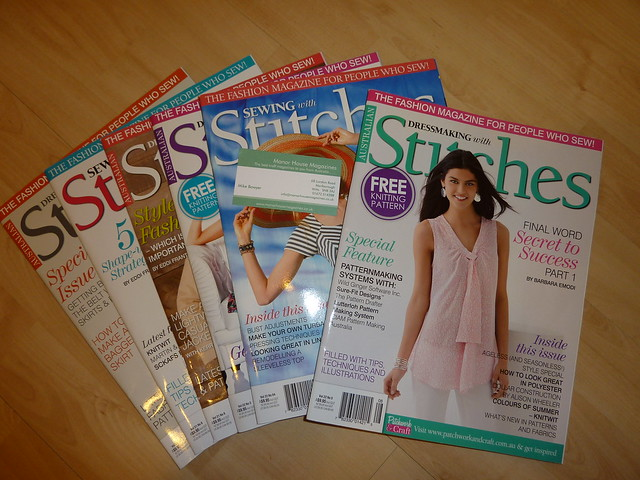 Australian Stitches Magazine (Sewing / Dressmaking)