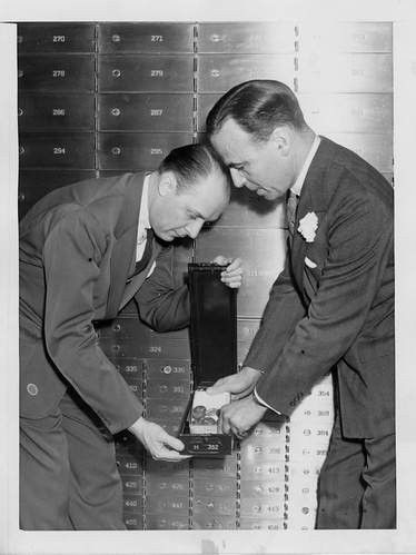 George H. Earle, Jr coin vault photo