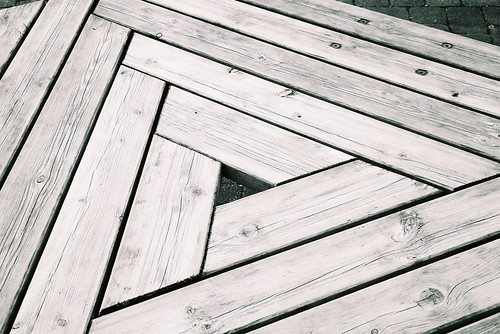Triangular wood
