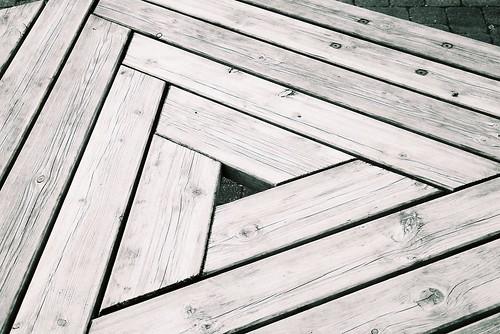 Triangular wood