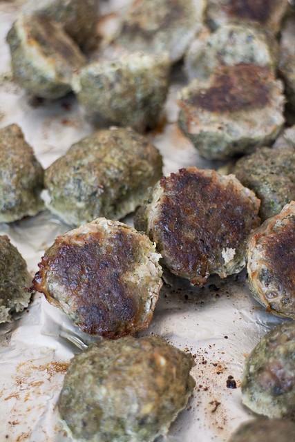 Baked Kale Meatballs _1