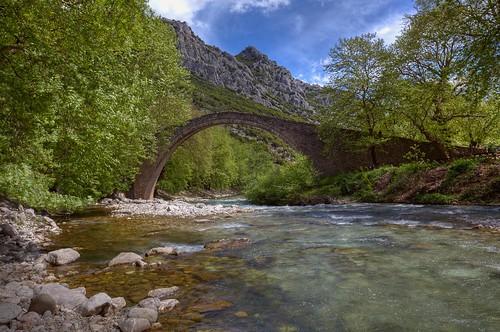 bridge architecture greece rivers hdr ελλάδα θεσσαλία ποταμόσ