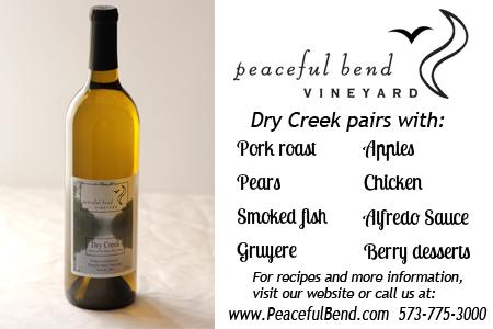 Dry Creek Pairing Guide
