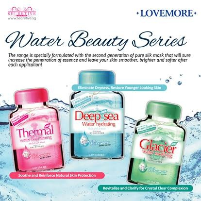 lovemore water beauty series review