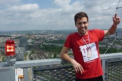 Běžci budou zdolávat nejvyšší českou budovu AZ Tower