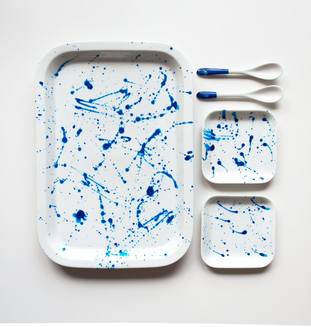 Monthly Makers color – splatter paint