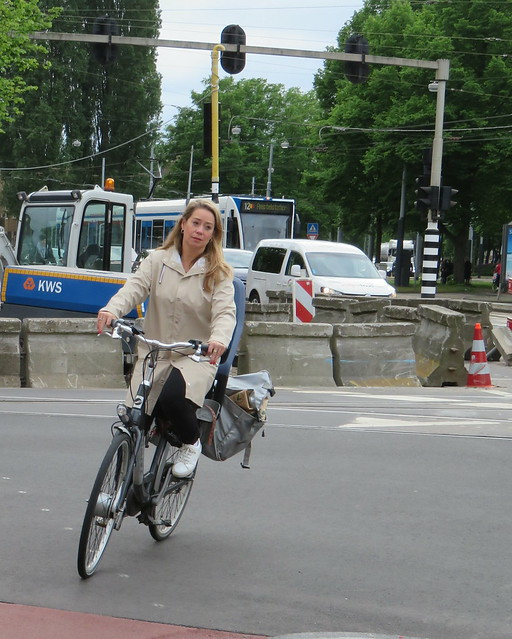 Amsterdam Rivierenbuurt Rijnstraat - Vrijheidslaan bike blond
