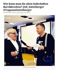 Das Sommerinterview mit @th_sattelberger - heute live um 17 Uhr https://ichsagmal.com/2016/07/15/wie-kann-man-die-alten-seilschaften-durchbrechen-th_sattelberger-fragenansattelberger/